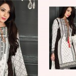 Firdous Paris Linen Winter Dresses 2016 for women'