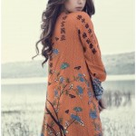 Maria B Winter Linen Luxury Dresses Collection 2016