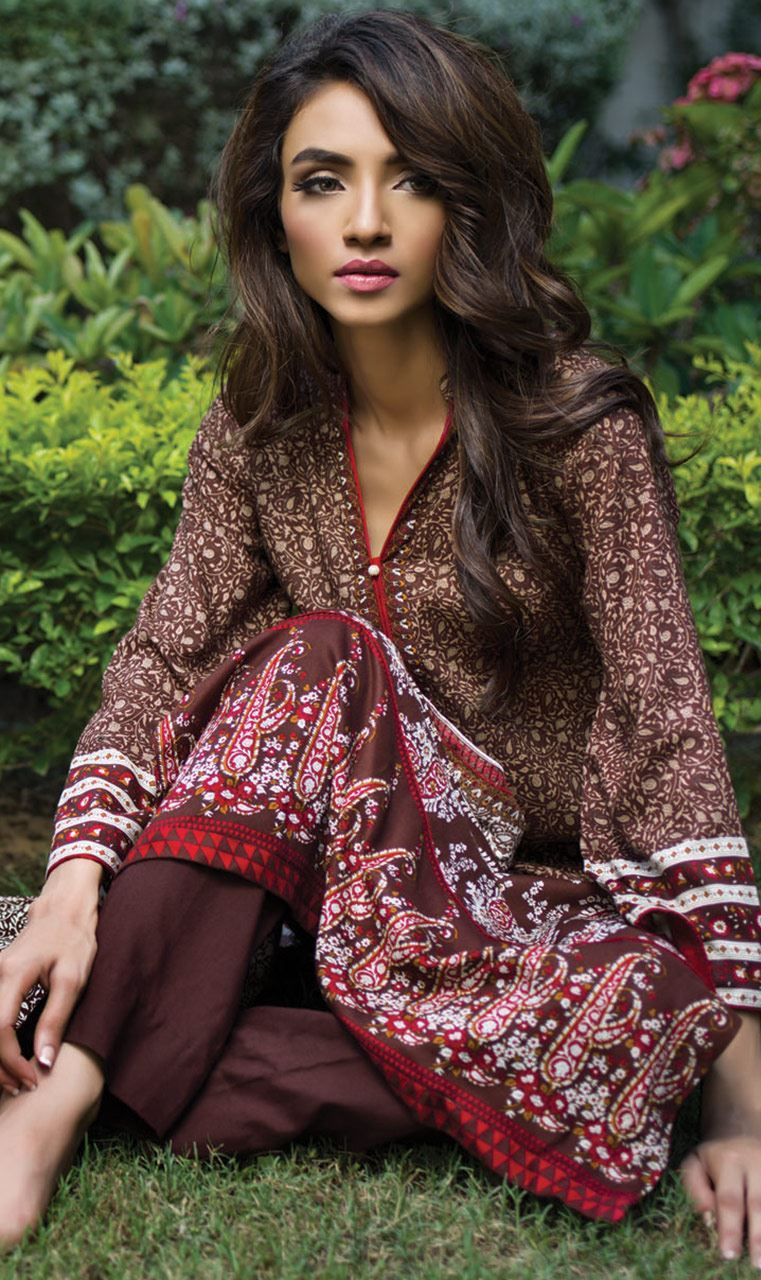 Orient Textile Latest Collection For Fall Winter 16: Orient Textile Winter Collection 2015-16 With Price