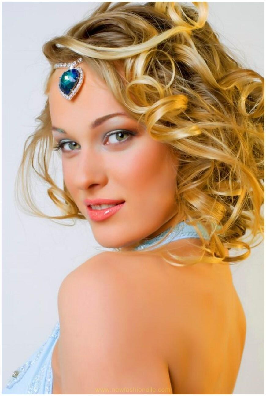 Prom Girls Hairdos for Medium Length Hair | New Fashion Elle