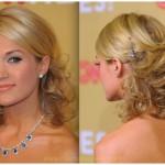 Prom Girls Hairdos for Medium Length Hair