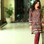 Riffat & Sana Semi-Formal & Winter Silk Karandi 2015-2016 (5)