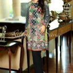 Riffat & Sana Semi-Formal & Winter Silk Karandi 2015-2016 (7)