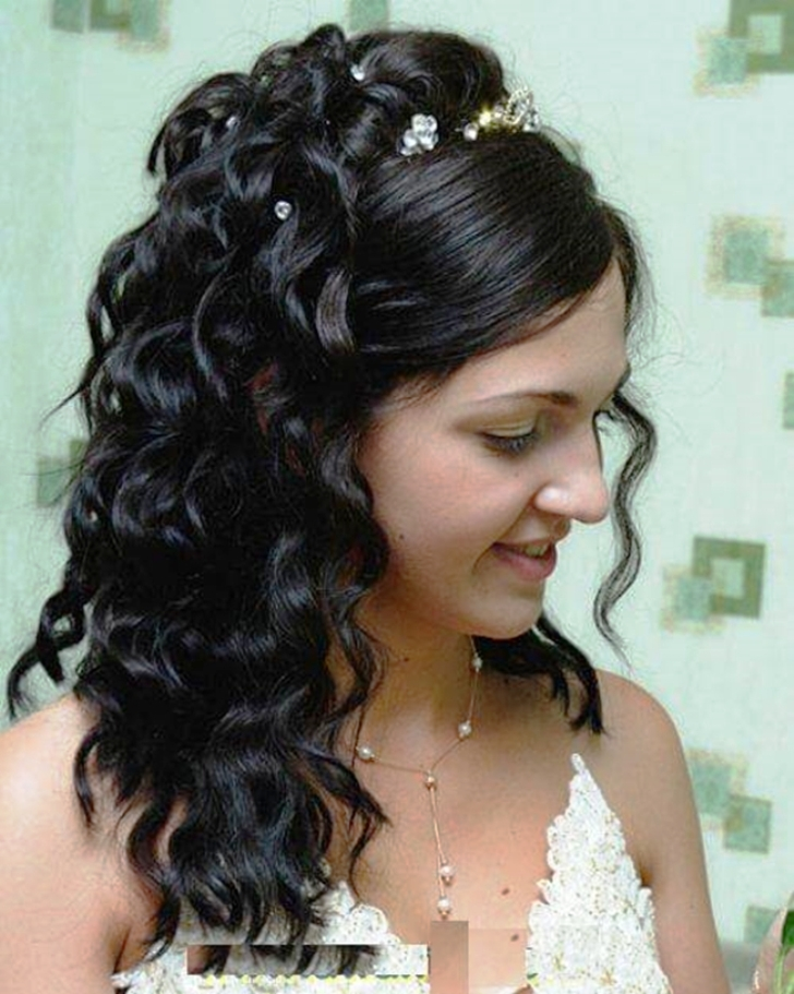 Indian wedding hairstyles for long hair 2018
