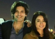 Actress Sarwat Gilani's Birthday Party Pictures with Fahad Mirza (1)