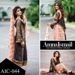 Amna Ismail Chiffon Collection 2016 for women (1)