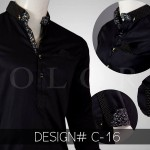 BLack Shalwar Kameez Winter Collection2016