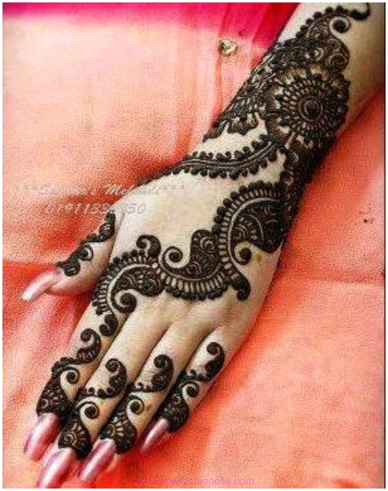 Mehndi Fingers Designs 2016 : Finger mehndi designs for brides