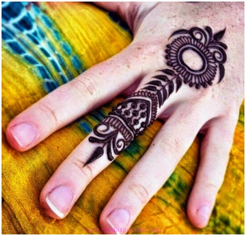 Mehndi Designs For Fingers A Women S Club : Finger mehndi designs for brides newfashionelle