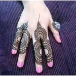 Easy Finger Mehndi Designs