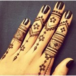 Finger Mehndi Designs HD pictures