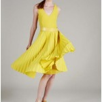 Latest yellow night wears for wedding night