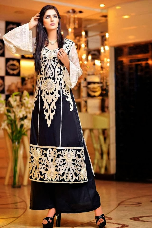 Stylish Pakistani Dresses For Girls And Women 2018
