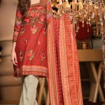 Subhata Khaddar Embroidered Winter Shawl Dresses 2016 by SHariq TExtile
