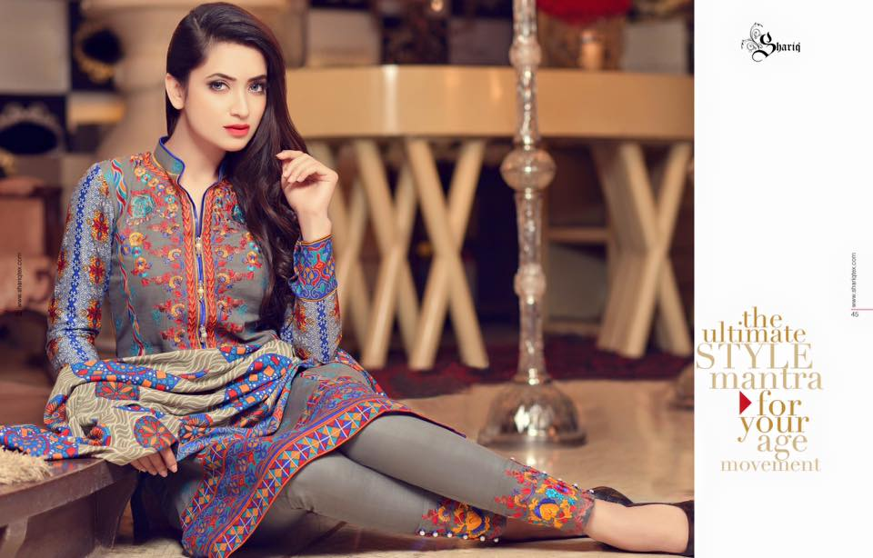 Subhata Khaddar Embroidered Winter Shawl Dresses 2016 (2)