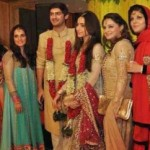 Maryam Nawaz Sharif's Daughter Wedding & Valima Pictures (1)