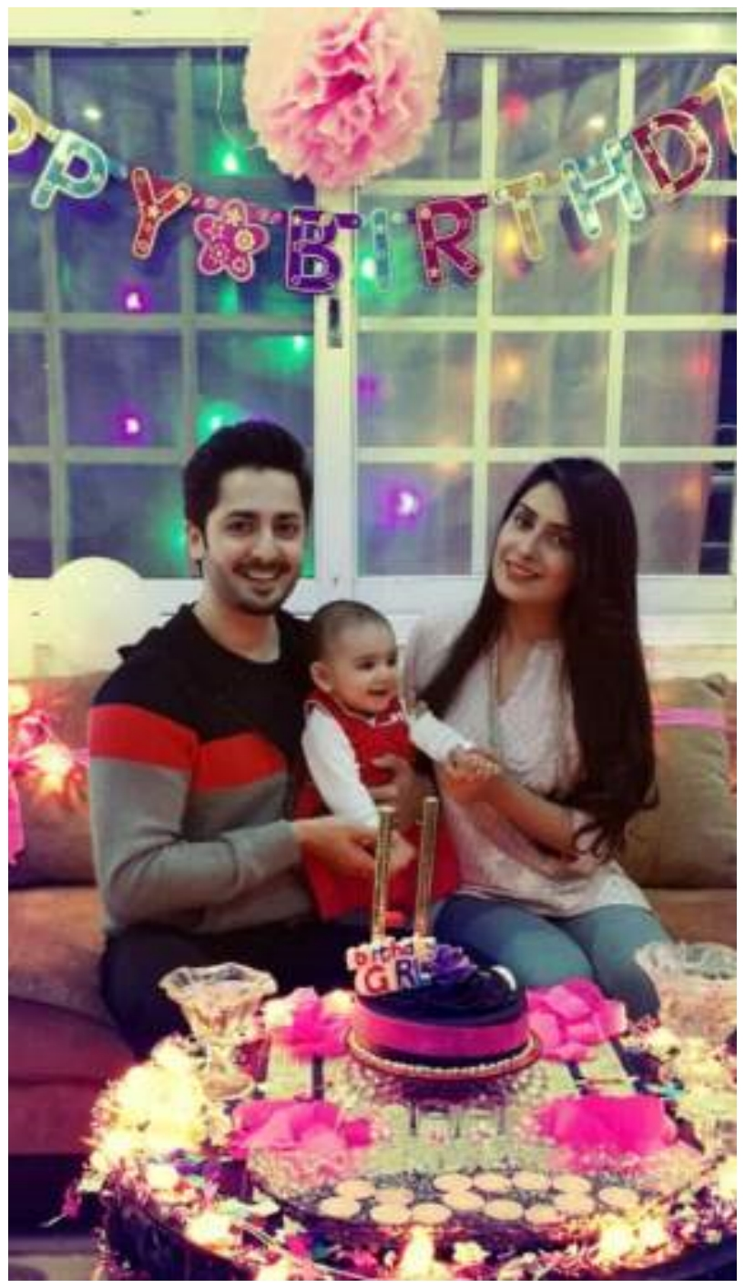 Ayeza Khan Birthday Party Pictures With Danish Taimoor