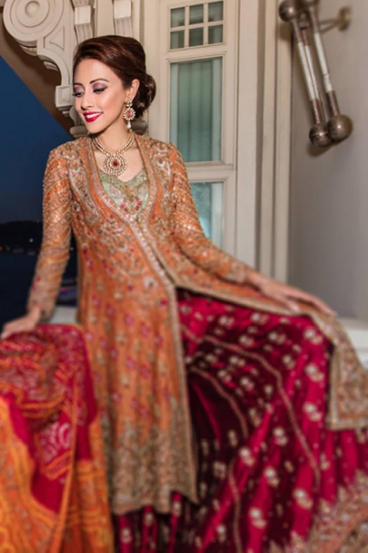 Designer Farah Talib Aziz Bridal Dresses collection 2019,