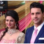 Cute divyanka tripathi engagement Pictures