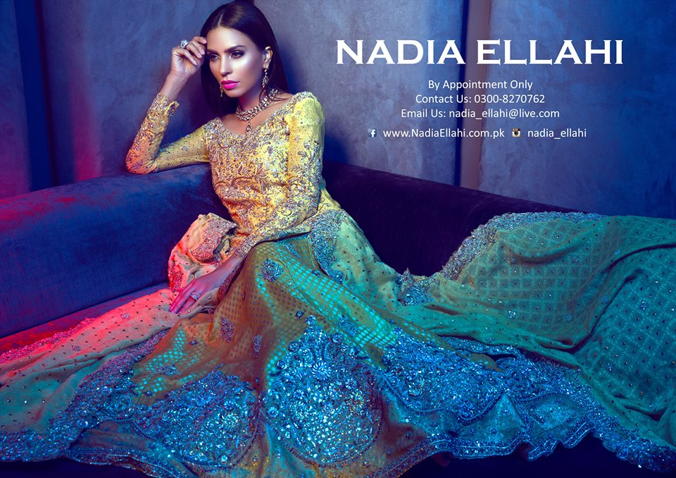 Latest Nadia Ellahi Summer The Absolute Bride En Vogue 2016