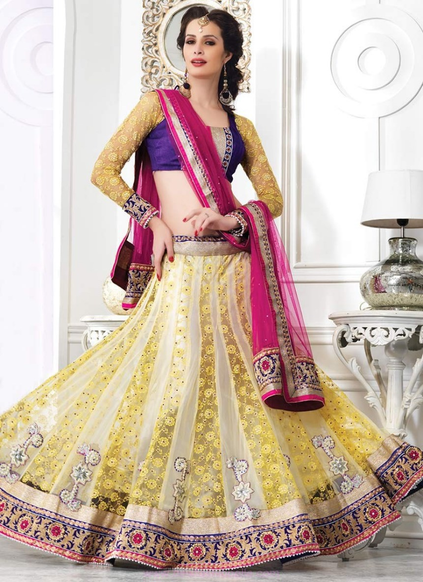 lehenga choli designs for engagement with price