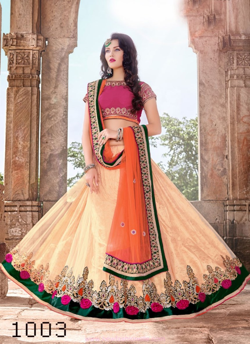 Lehenga Choli Design Images 2017 2018
