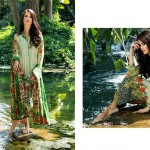 Al-Zohaib Lawn Collection yellow color dresses