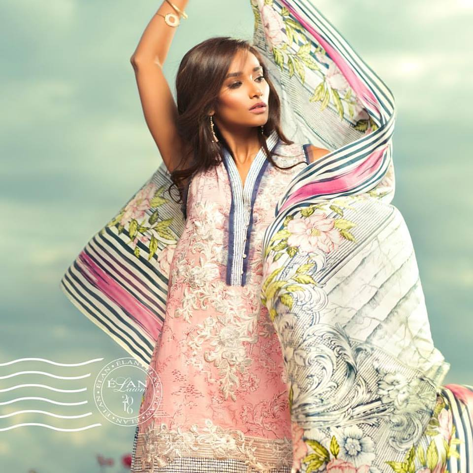 ELAN lawn Spring Summer 2016 for Girls