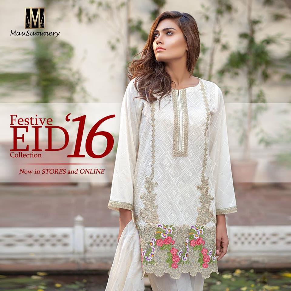 Mausummery lawn 2013 eid collection