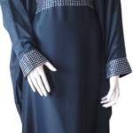 New color bleated-abaya-full-view