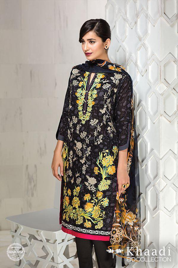 Khaadi Eid Collection 2016 with Prices