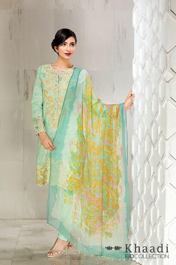 Khaadi Flower Garden Eid Collection 2016