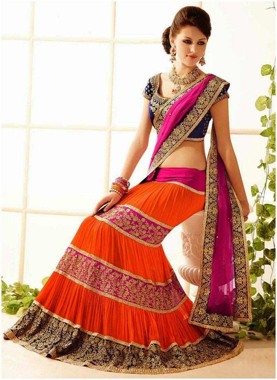 Cheap Casual Wear Saree Blouse Pattern