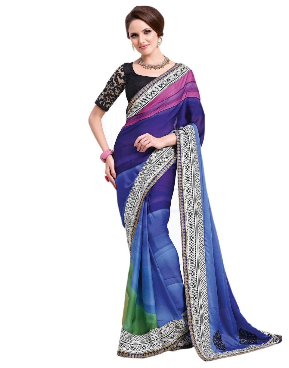 Latest Net saree Blouse Fashion Trends in UK