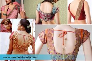 latest saree blouse design images photoss