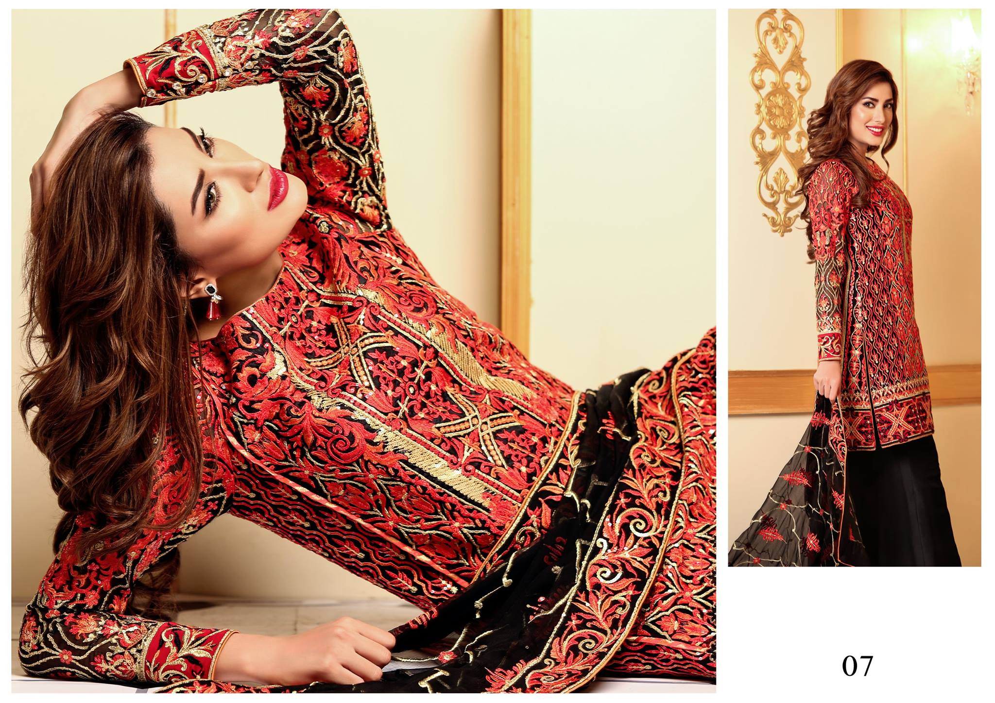 New Nomi Ansari Chiffon Lawn 2016 By Shariq Textile With Price