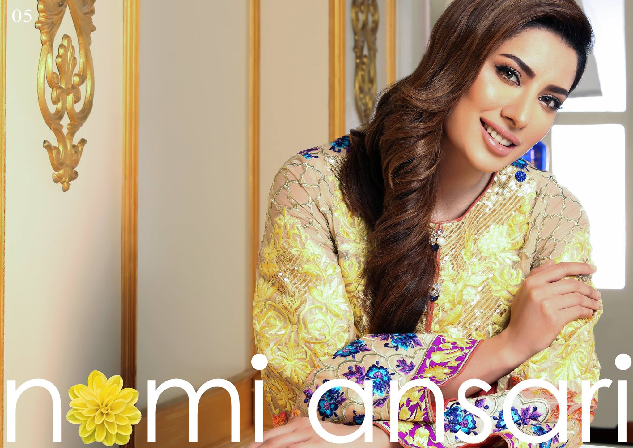 New Nomi Ansari Summer Chiffon Collection 2016 by Shariq Textiles