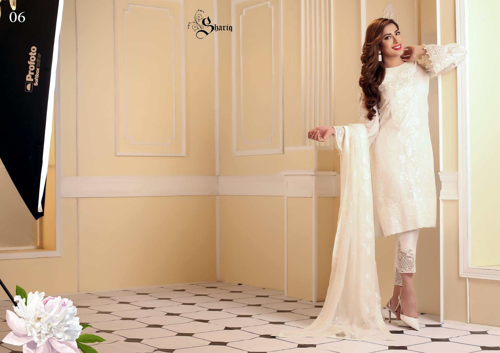 Nomi Ansari Embroidered Chiffon Collection 2016-2017 by Shariq