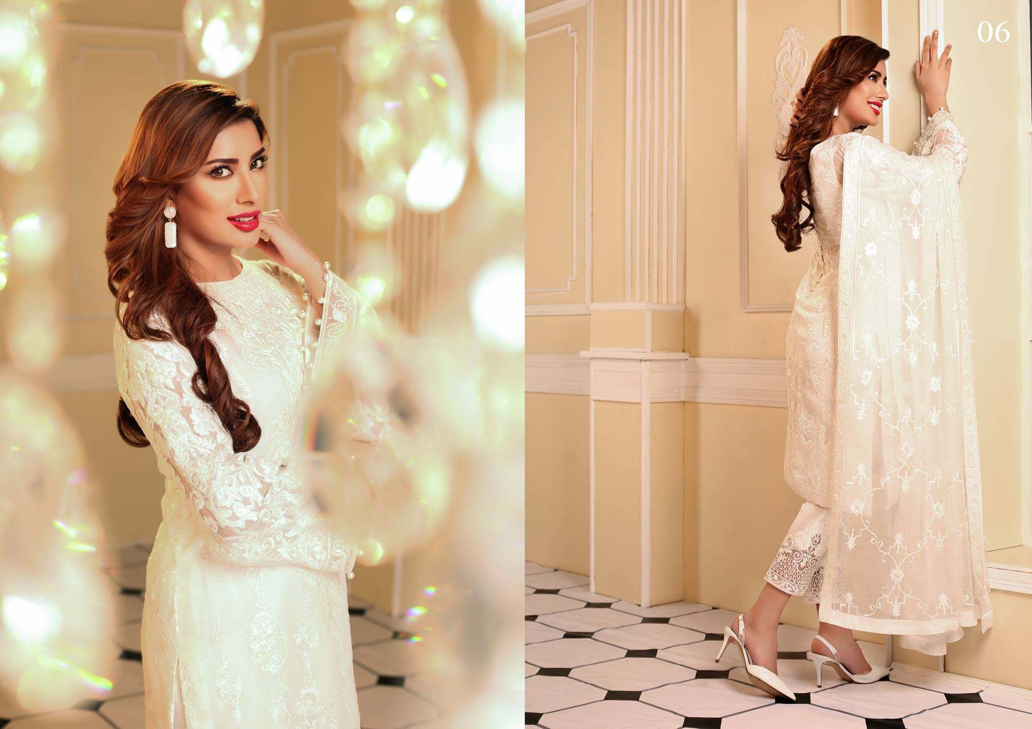 Nomi Ansari Summer Chiffon Collection 2016 by Shariq Textiles