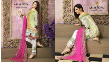 Asim Jofa Premium Eid Collection 2016-2017 Design