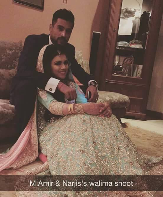Best images from Mohammad Amir's wedding ceremony