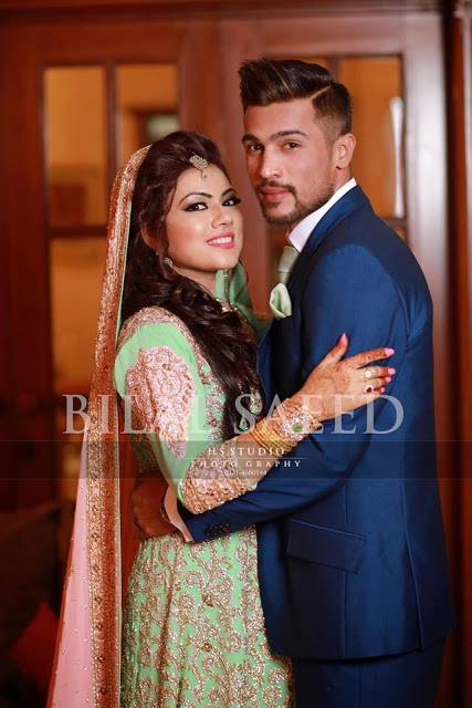 Cricketer Mohammad Amir & Nargis Wedding Gallery