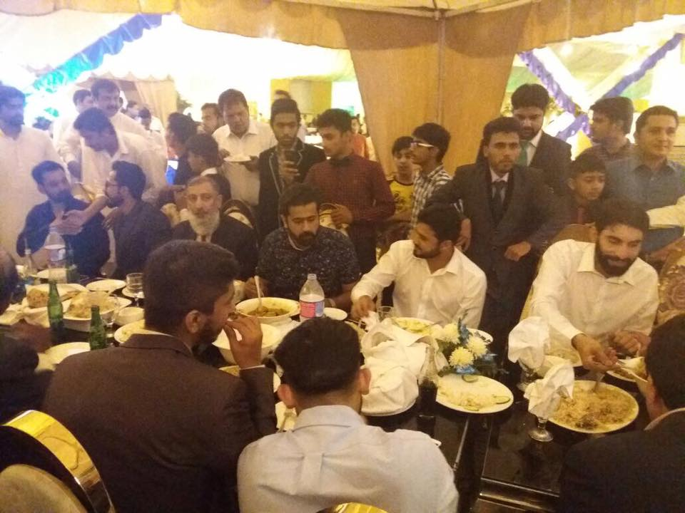 Cricketer Mohammad Amir & Nargis Wedding Pictures