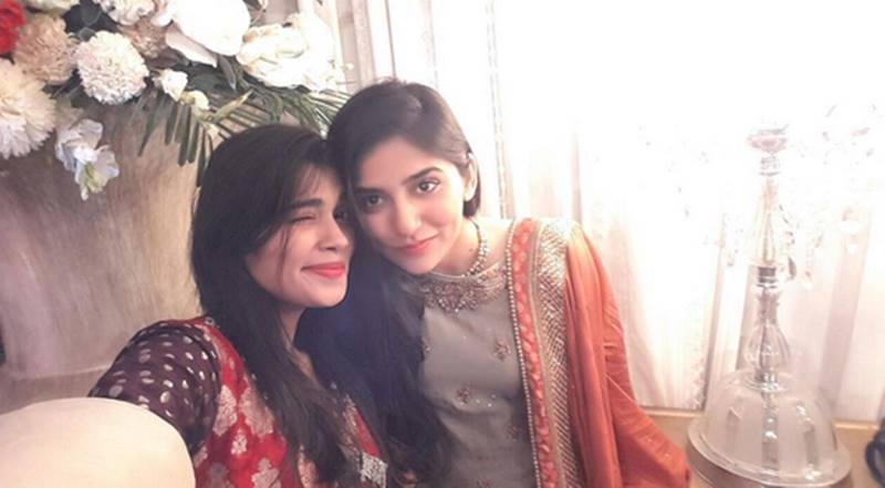 Sanam Baloch at Muhammad Amir's wedding
