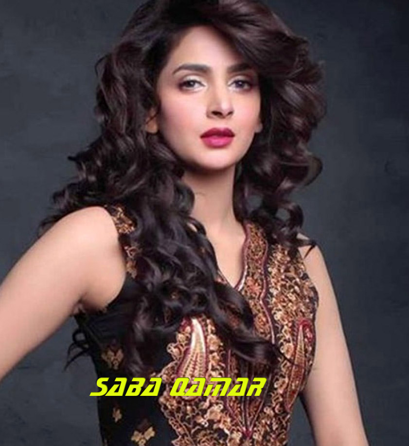 Pakistani film and television actress Saba Qamar
