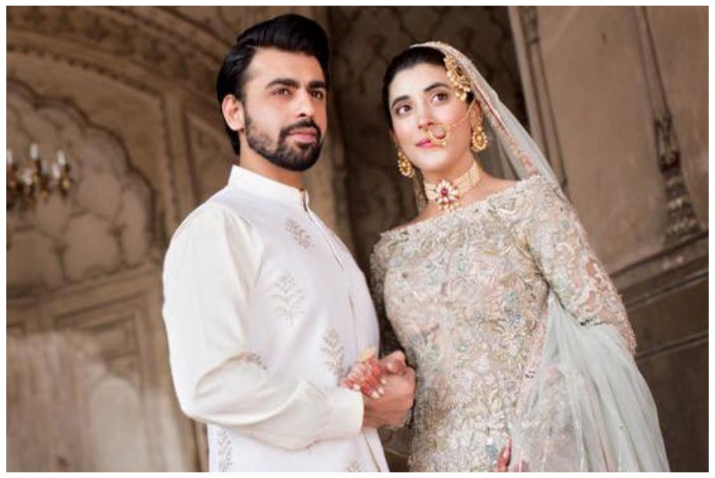 Actress Urwa Hocane &  singer Farhan Saeed's Nikah ceremony 2016 Photos