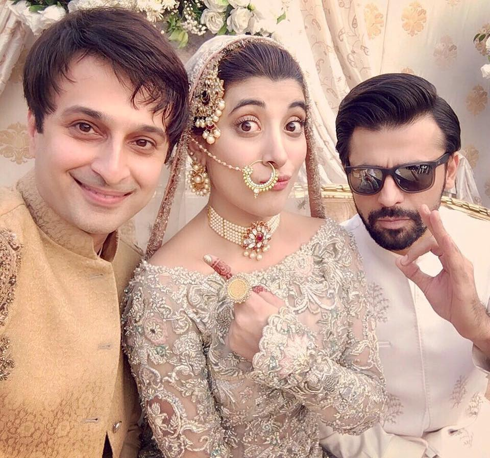 Model actress urwa hocane wedding pics