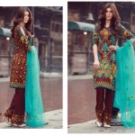 2017 Libas Designer Embroidered Collection by Shariq Textiles