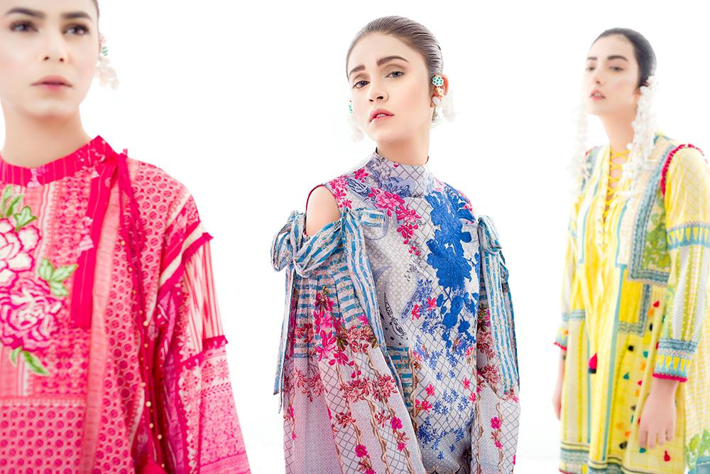 Ethnic by outfitters Renaissance Unstitched SS Collection 2017 (3)