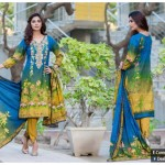 Falak Fabrics Beautiful Chiffon Winter Collection (2)